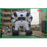 China Oxford Cloth Custom Inflatable Products Inflatable Robot For Outside Advertising wholesale