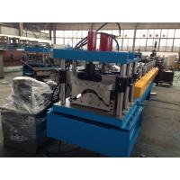 China Steel Roof Ridge Cap Roll Forming Machine Press Step Type Mobile Protective Mesh wholesale