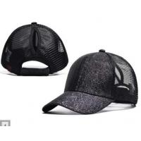 China Wholesale Adjustable mesh baseball cap Back Hole Pony Tail Snapback Cap patchwork sports sun hat with a ponytail slot wholesale