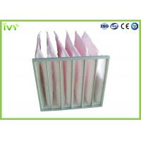 China Secondary Efficiency Bag Replacement Air Filter 100% Max Relative Humidity wholesale