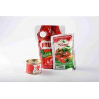 China Concentrated Tomato Paste / Canned Sweet Tomato Sauce 2 Years Shelf Life on sale