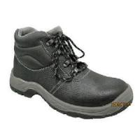 China Cow Leather Upper Steel Toe Cap PU Outsole Safety Shoes (ABP1-1004) wholesale