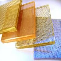 China Aluminium Frame Art Laminated Glass Requirements Wall Textured PVB Long Lifespan wholesale