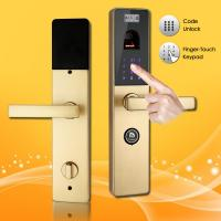 China Finger-Touch Password and Biometric Fingerprint Door Lock with Handle Direction Reversible on sale