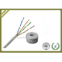 China UTP Cat5e  4 pairs 24awg Solid bare copper  Lan Cable 305m Pull Box wholesale