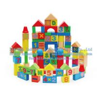 China Wooden blocks, the number of children