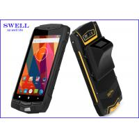 China 5 Inch Rugged Waterproof Smartphone gps barcode device with 2 sim cards wholesale