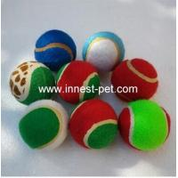China Dogs Toys, Dogloveit Rainbow EVA Foam Ball for Pet Dog Cat Training Playing Chewing on sale
