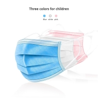 China Surgical Earloops Kids 3 Layers Disposable Face Mask wholesale