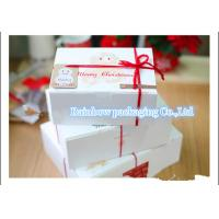 China Take Away Handle Paper Box Packaging With Transparent Window For Cookie wholesale