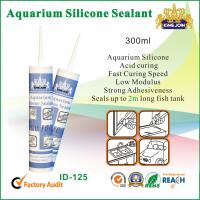 China 300ml Waterproof Silicone Sealant / Heat Resistance Silicone Adhesive For Glass wholesale