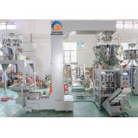 China Frozen Food Automated Packing Machine Multi Heads Weigher Schneider PLC Control wholesale
