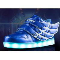 Buy cheap Waterproof And Warm Childrens LED Shoes / USB Charging Kids Shoes For Winter from wholesalers