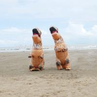 Hot sale excellent quality low price costumes walking inflatable costume dinosaur moving cartoon