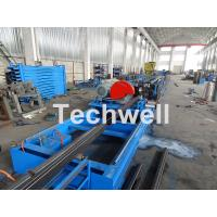 China Galvanized Steel Cold Roll Forming Machine With High Speed 12-15m/min For Rack Box Beam / Step Beam wholesale