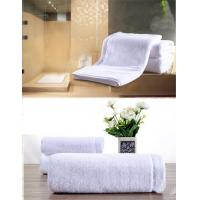 China Customized Hotel Style Towels Biodegradable , Bamboo Face Towels Easy Wash wholesale