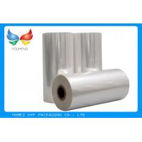China 45mic Thermal Heat  PVC Shrink Film Rolls For Plastic Bottle Label wholesale