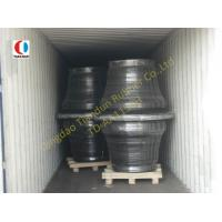 China 1150H Super Cone Black Boat Fenders SBR For Harbor , ISO9001 wholesale