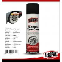 China Aeropak 500ml Tyre foaming cleaner for tire care spray car polish wholesale