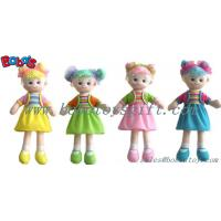 China Lovely Fashion Plush Stuffed Girl Doll Toy With Dress wholesale