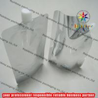 China Aluminum Foil Plain Spout Pouch Packaging With Cap wholesale