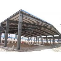 China Low price galvanized steel structure prefabricated warehouse with frame use life 50 years wholesale