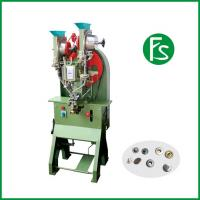 China Full automatic button riveting machines high quality model no. 727F reasonable price on sale