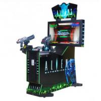 China Coin operated electronic Arcade Aliens Extermination shooting game machines indoor 42LCD simulator gun shootin wholesale