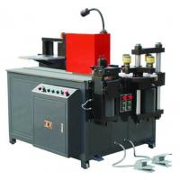 Quality Busduct Production Machine , PLC Control 3 In 1 Busbar Processing Machine for sale