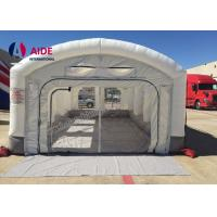 China Cheap mobile car inflatable paint booth/ inflatable spraying booth/ inflatable spray booth wholesale
