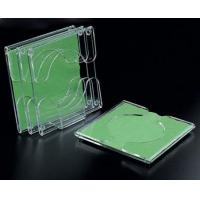 China Beautiful Shape Clear Acrylic Coasters For Round Cup wholesale