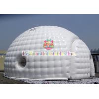 China Sealed Type Dome inflatable Igloo / Bubble Tent For Wedding Rental wholesale
