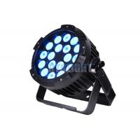 China IP65 60Hz Stage Lighting Par Cans With 45 Degree Beam Angle 90 Lm/W on sale