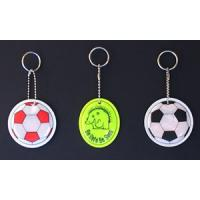 China reflective key chain, reflective hanger bear for safety decoration and warning,paper chain decorations wholesale