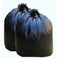 China Black Plastic Garbage Bags Disposable Trash Bags Flat Packing Or Roll Packing wholesale