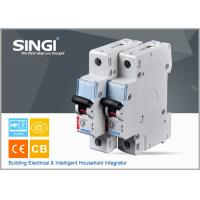 China Breaking capacity reach to 10000 C25 1p waterproof miniature circuit breaker (mcb) wholesale