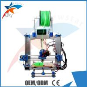 China Desktop 3D Printer Kits , Reprap Creator ABS PLA 3D Maker Machine DIY Toys Kits wholesale