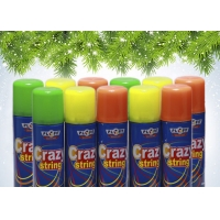 China Colorful Non Flammable EN71 Party String Spray wholesale