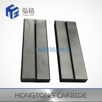 China High temperature resist tungsten carbide square bar soldering on steel on sale