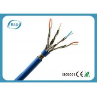China PVC Jacket Blue Cat 7 Lan Cable For Network Wiring Structure High Speed wholesale