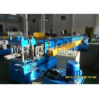 China Professional Rack Roll Forming Making Machine for Supermarket Storage Upright Shelves Chain Drive system on sale