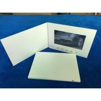 China Custom printing 7inch screen size launch video brochure card personalized video greeting cards video in book /booklet wholesale