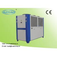 Buy cheap 9.2~142.2 KW Industrial Air Cooled Water Chiller Galvanized Sheet Shell from wholesalers