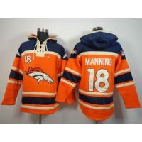 Quality nfl broncos 18 Manning sweatshirts hoody wholesale source for sale