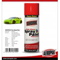 China AEROPAK 400ml Hot Sales Fast Dry Fluorescent Spray Paint  for Liquid Coating wholesale