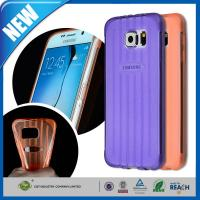 China Crystal TPU Galaxy Cell Phone Cases , Gel Bumper Clear Back Cover on sale
