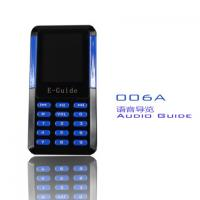 China 006A Mini Audio Guide Device 8 Languages Handheld Electronic Tour Guide Systems wholesale