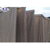 China HDP Galvanized Sand Filled Barriers For Army Shooting Range OEM Service wholesale
