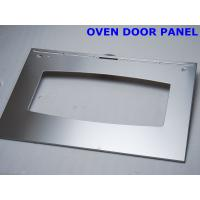 Buy cheap Silver / Champagne Polishing Oven Door Replacement With Tempered Decorative from wholesalers