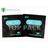 Buy cheap Food Use Aluminum Foil Stand Up Pouch 3 Side Sealed Window Condom Packaging from wholesalers